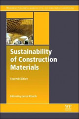 Omslag - Sustainability of Construction Materials