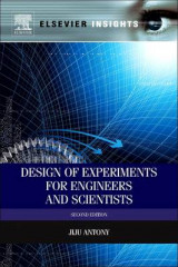 Omslag - Design of Experiments for Engineers and Scientists
