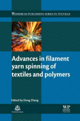Omslag - Advances in Filament Yarn Spinning of Textiles and Polymers