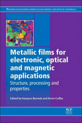 Omslag - Metallic Films for Electronic, Optical and Magnetic Applications