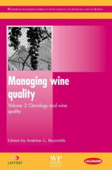 Omslag - Managing Wine Quality