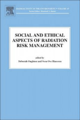 Omslag - Social and Ethical Aspects of Radiation Risk Management: Volume 19