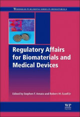 Omslag - Regulatory Affairs for Biomaterials and Medical Devices