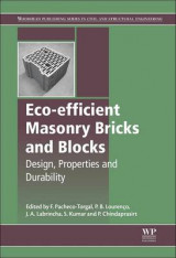 Omslag - Eco-Efficient Masonry Bricks and Blocks: Design, Properties and Durability