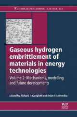 Omslag - Gaseous Hydrogen Embrittlement of Materials in Energy Technologies