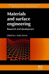 Omslag - Materials and Surface Engineering
