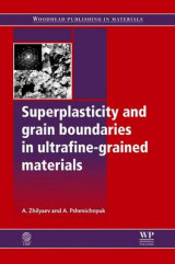 Omslag - Superplasticity and Grain Boundaries in Ultrafine-Grained Materials