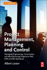 Omslag - Project Management, Planning and Control