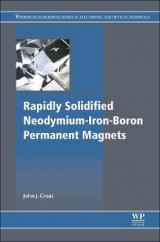 Omslag - Rapidly Solidified Neodymium-Iron-Boron Permanent Magnets