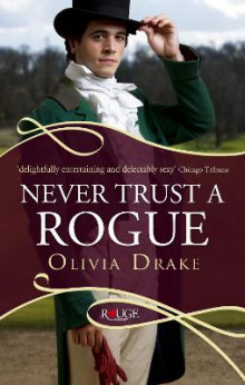 Never trust a rogue: a rouge regency romance av Olivia Drake (Heftet)