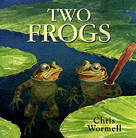 Two Frogs av Christopher Wormell (Heftet)
