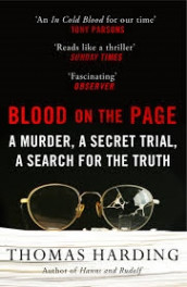 Blood on the Page av Thomas Harding (Heftet)