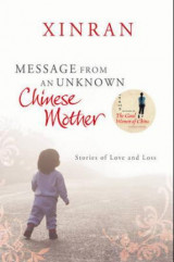 Omslag - Message from an unknown Chinese mother