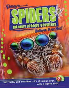 Spiders and Scary Creepy Crawlies (Ripley's Believe it or Not!) av Robert Ripley (Heftet)