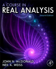 A Course in Real Analysis av Neil A. Weiss og John McDonald (Innbundet)