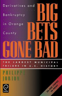 Big Bets Gone Bad av Philippe Jorion (Heftet)