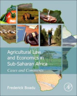 Omslag - Agricultural Law and Economics in Sub-Saharan Africa