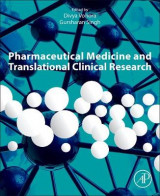 Omslag - Pharmaceutical Medicine and Translational Clinical Research