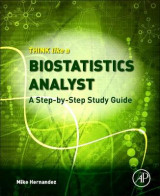 Omslag - Think Like a Biostatistics Analyst: a Step-by-Step Study Guide