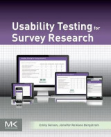 Omslag - Usability Testing for Survey Research