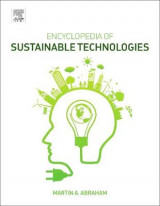 Omslag - Encyclopedia of Sustainable Technologies