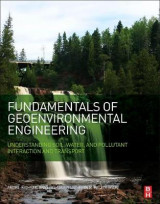Omslag - Fundamentals of Geoenvironmental Engineering