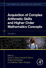 Omslag - Acquisition of Complex Arithmetic Skills and Higher-Order Mathematics Concepts