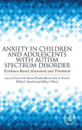 Omslag - Anxiety in Children and Adolescents with Autism Spectrum Disorder