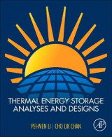 Omslag - Thermal Energy Storage Analyses and Designs