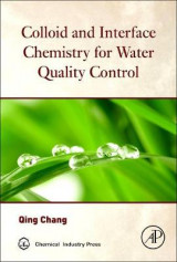 Omslag - Colloid and Interface Chemistry for Water Quality Control