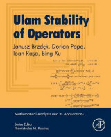 Omslag - Ulam Stability of Operators