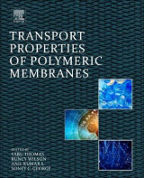 Omslag - Transport Properties of Polymeric Membranes