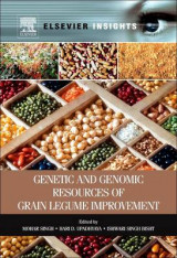 Omslag - Genetic and Genomic Resources of Grain Legume Improvement
