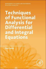 Omslag - Techniques of Functional Analysis for Differential and Integral Equations