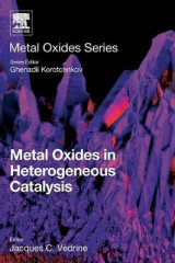 Omslag - Metal Oxides in Heterogeneous Catalysis