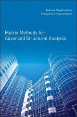 Omslag - Matrix Methods for Advanced Structural Analysis