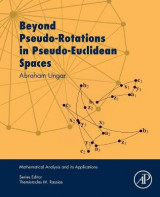 Omslag - Beyond Pseudo-Rotations in Pseudo-Euclidean Spaces