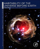 Omslag - Habitability of the Universe before Earth: Volume 1