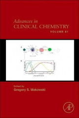Omslag - Advances in Clinical Chemistry: Volume 81