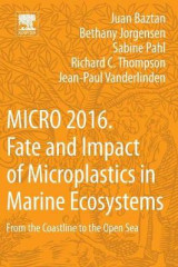 Omslag - Micro 2016: Fate and Impact of Microplastics in Marine Ecosystems