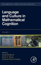 Omslag - Language and Culture in Mathematical Cognition: Volume 4