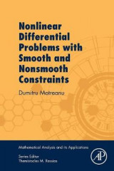 Omslag - Nonlinear Differential Problems with Smooth and Nonsmooth Constraints