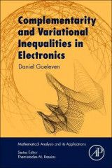 Omslag - Complementarity and Variational Inequalities in Electronics