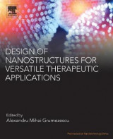 Omslag - Design of Nanostructures for Versatile Therapeutic Applications