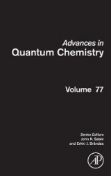 Omslag - Advances in Quantum Chemistry: Volume 77