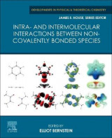 Omslag - Intra- and Intermolecular Interactions between Non-covalently Bonded Species