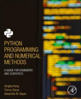 Omslag - Python Programming and Numerical Methods