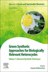 Omslag - Green Synthetic Approaches for Biologically Relevant Heterocycles