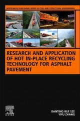 Omslag - Research and Application of Hot In-Place Recycling Technology for Asphalt Pavement