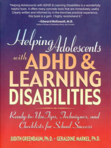 Helping Adolescents with ADHD and Learning Disabilities av Judith Greenbaum og Geraldine Markel (Heftet)
